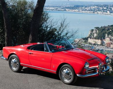 Alfa Romeo Spider Giulia