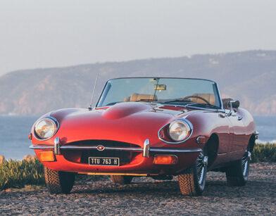 Jaguar E-Type Roadster (red)